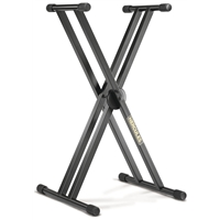 KS120B: EZ-LOK Double Braced Keyboard Stand
