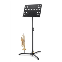 BS311B: Tripod Orchestra Stand w/perf.foldable