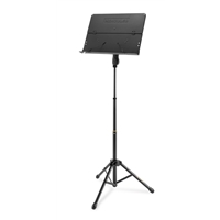 BS408B: 3-section Music stand w/ foldable desk