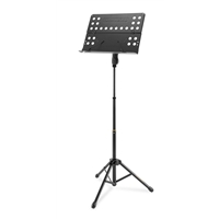 BS418B: Music stand w/ perforated foldable des