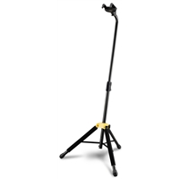 GS414B: Auto Grab Single Guitar Stand w/Leg rest