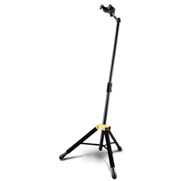 GS415B: Auto Grab Single Guitar Stand w/Leg rest