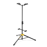 GS422B: Auto Grab Double Guitar Stand w/Body rest