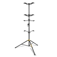 GS562B: Upright Guitar display stand for 6 guitars