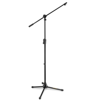 MS532B: 2 in 1 Mic boom stand EZ Clutch