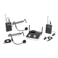 Dual UHF Tabletop Wireless Presentation System