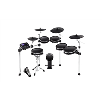DM10 Pro 2: 6-Pce E-Drum Kit with 3 Cymbals