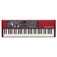 Nord Electro 5D 73 Key, Semi-weighted w/- Drawbars