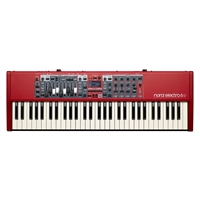 Nord Electro 6D 61 Key, Semi-weighted w/- Drawbars