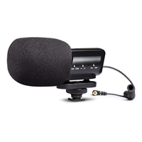 X/Y Stereo condenser microphone for DSLR cameras