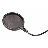 PS01: Pop Filter w/Clamp on goose neck