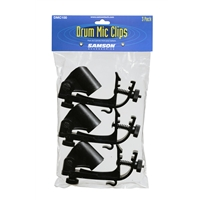 DMC100: Drum rim mount Mic Clip 3 pack