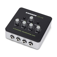 QH4 Samson 4 Channel Headphone Amp
