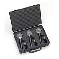 R21: Handheld SuperCardioid Dynamic Mic 3 pack