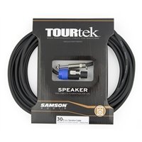 TourTek 30' Spkon to Jack Speaker Cable (9.15m)