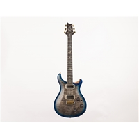 CU22 Piezo: Wood Library, Charcoal Blue Burst