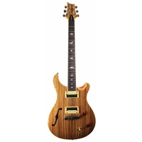 SE Limited Custom 22 Semi Hollow: Zebrawood Top