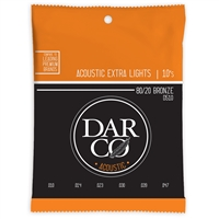 Darco Acoustic 80/20 Bronze Extra Light 10-47