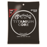 Martin Titanium Core Strings Light Tension