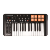 Oxygen 25 USB Key Controller - Pads, Pots, Faders