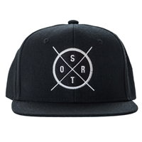 SRTO Badge Black Cap