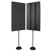 """3"""" ProMAX 2' x 4' Panels - Charcoal (2 Stands)"""