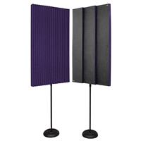"3"" ProMAX 2' x 4' Panels - Purple (2 Stands)"