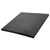 """1"""" Fabric Covered SF Pro 2' x 2' Panel - Black x 1"""