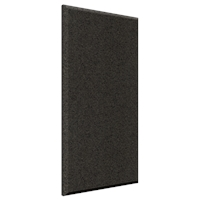 "2""x2'x4' Wall ProPanel - Ebony Fabric Finish"
