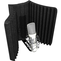 MudGuard Shield: Mic Isolation Shield with Mount