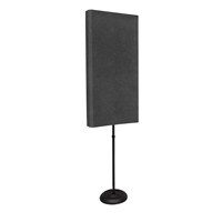 Stand Mounted Studio6 Bass Traps x 2 - Charcoal