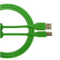 UDG Ultimate USB2 Cable A-B Green Straight 3m