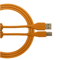 UDG Ultimate USB2 Cable A-B Orange Straight 3m