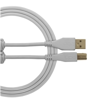 UDG Ultimate USB2 Cable A-B White Straight 3m
