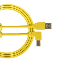 UDG Ultimate USB2 Cable A-B Yellow Angled 2m