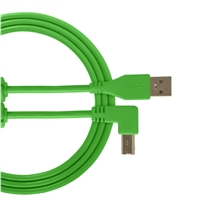UDG Ultimate USB2 Cable A-B Green Angled 3m
