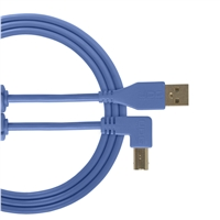 UDG Ultimate USB2 Cable A-B Blue Angled 3m