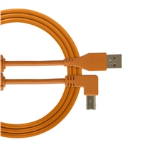 UDG Ultimate USB2 Cable A-B Orange Angled 3m