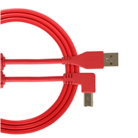 UDG Ultimate USB2 Cable A-B Red Angled 3m