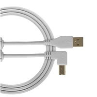 UDG Ultimate USB2 Cable A-B White Angled 3m