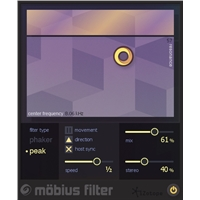 Mobius Filter: Moving Filter Effect (EDU Serial)