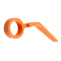 Fingergrip: Orange Concorde MkII (x1)