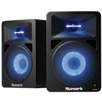 N-WAVE 580L: DJ Monitors with Lights