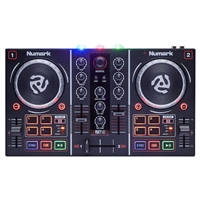 Party Mix: DJ Controller with Audio and Lights