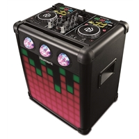 Party Mix Pro: DJ System with Lights + Speaker