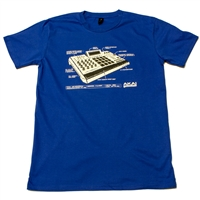 T-Shirt: Numark Since 1971 - Large Blue