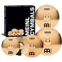 "Classics Custom Cymbal Pack 14""MHH 16""MC 20""MR 18C"