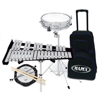 Combo 32 Note Bell & Snare Kit W/Prac Pad & Ba