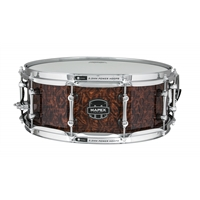 """Armory Snare: """"Dillinger"""" 14x5.5 Maple Burl Exotic"""