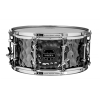 "Armory Snare: ""Daisycutter"" 14x6.5 Hammered Steel"